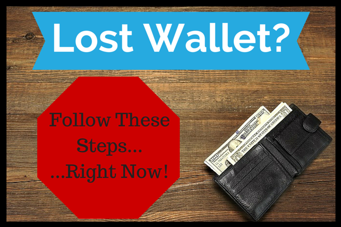 What To Do When You Lose Your Wallet or Purse ...