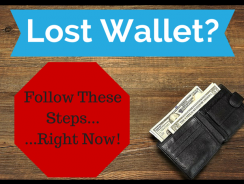 What To Do When You Lose Your Wallet or Purse